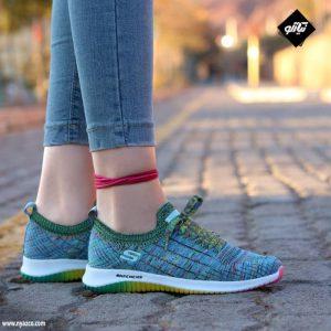 کفش اسپرت زنانه اسکیچرز مدل فلکس