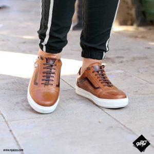 خرید کفش اسپرت مردانه چرم مدل ونس کد M02