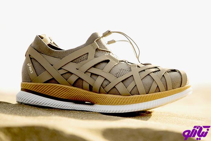 کفش Asics با طراحی معمار ژاپنی