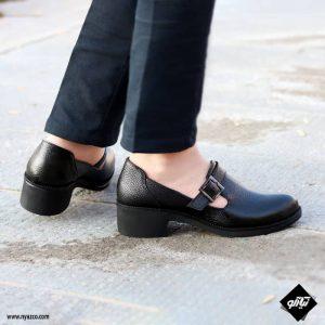 خرید کفش چرم زنانه راینو مدل بهار کد B165