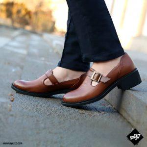 خرید کفش چرم زنانه راینو مدل بهار کد C165
