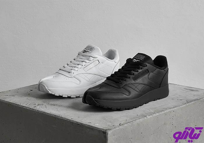 کفشهای Maison Margiela Tabi و Reebok