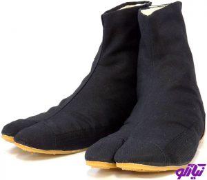 کفشهای Maison Margiela Tabi و Reebok 1
