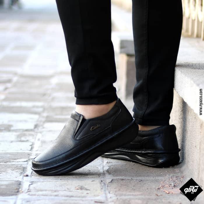کفش مردانه طبی طرح کلارک