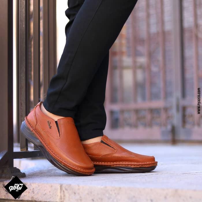 خرید کفش مردانه طبی طرح کلارک