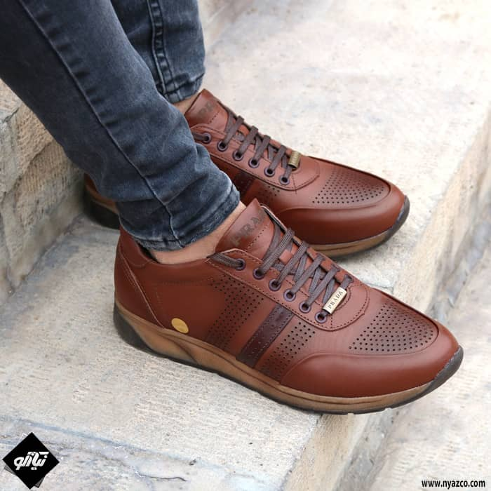 خرید کفش اسپرت مردانه تبریز مدل پرادا کد P82