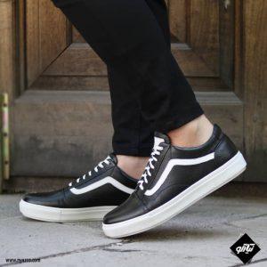 خرید کفش اسپرت مردانه چرم مدل ونس کد M01