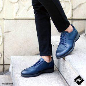 خرید کفش رسمی مردانه شمس مدل V8 رنگ سرمه ای