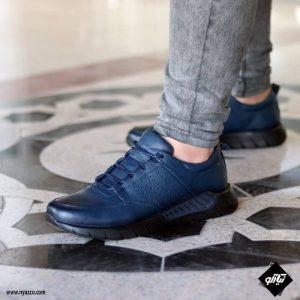خرید کفش اسپرت مردانه شمس مدل C1 رنگ سرمه ای