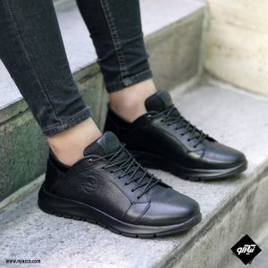 کفش اسپرت مردانه شمس مدل C8 رنگ مشکی