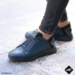 کفش اسپرت مردانه شمس مدل C8 رنگ سرمه ای