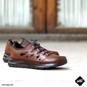 کفش اسپرت مردانه مدل C2 رنگ عسلی
