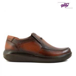 خرید کفش چرم مردانه لوتوس مدل اسپاد رنگ عسلی