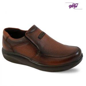کفش چرم مردانه لوتوس مدل اسپاد رنگ عسلی
