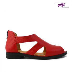 خرید کفش صندل زنانه الهام کد 229 رنگ قرمز