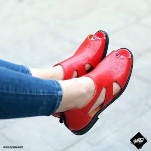 کفش صندل زنانه الهام کد 229 رنگ قرمز