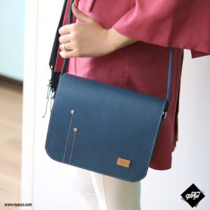 کیف چرم دوشی زنانه مدل پالیز کد B424