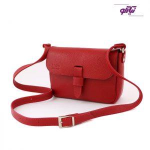 کیف دوشی چرمی زنانه مدل تانیا کد R413