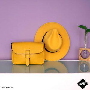 کیف دوشی چرمی زنانه مدل تانیا کد Y413