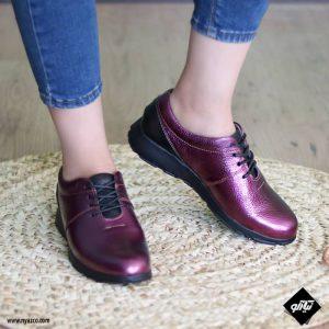 کفش طبی زنانه راینو مدل ندا کد ۲۰۱ رنگ بنفش