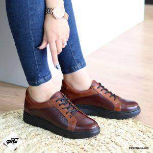 خرید کفش روزمره زنانه ونس کد ۲۲۰ رنگ زرشکی