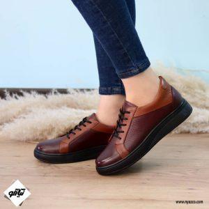 کفش روزمره زنانه ونس کد ۲۲۰ رنگ زرشکی